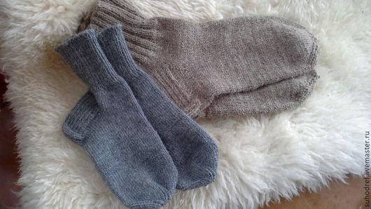 """Обувь ручной работы. Ярмарка Мастеров - ручная работа. Купить Носки вязанные """" Бабушкины носочки"""". Handmade. Шерсть, ножки"""
