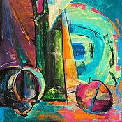 Картины и панно ручной работы. Ярмарка Мастеров - ручная работа АВТОРСКАЯ  КАРТИНА  ПАСТЕЛЬЮ   НАТЮРМОРТ  ЭКСПРЕССИЯ. Handmade.
