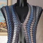 Одежда handmade. Livemaster - original item Cape WaterFall. Handmade.