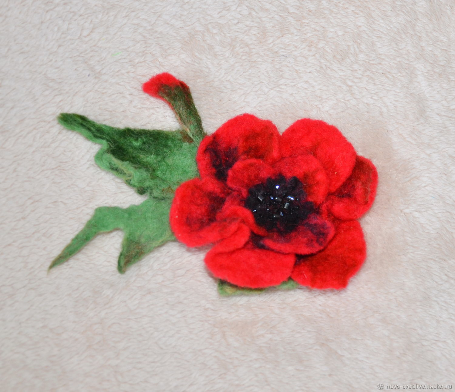 Felted Brooch Poppy Shop Online On Livemaster With Shipping
