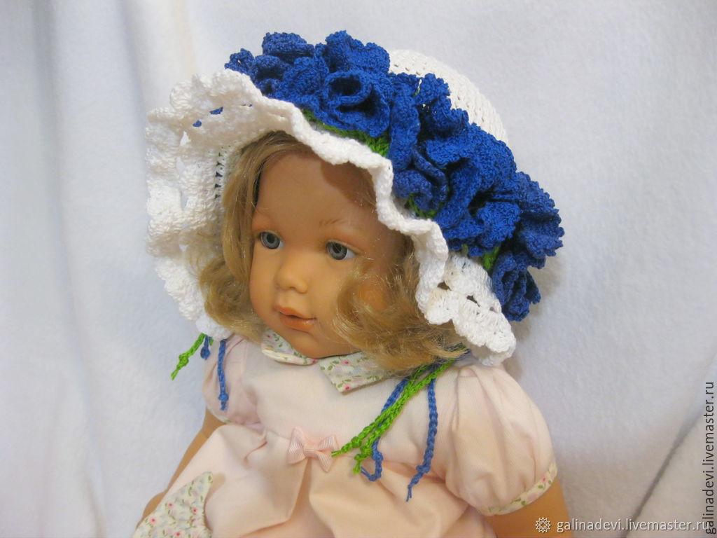 PANAMA girls 'Cornflowers' summer knit, Panama, Moscow,  Фото №1