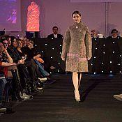 Одежда ручной работы. Ярмарка Мастеров - ручная работа Пальто из шерсти Пробуждение весны 15%. Handmade.