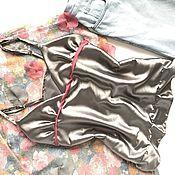 Одежда ручной работы. Ярмарка Мастеров - ручная работа Маечка в бельевом стиле. Handmade.