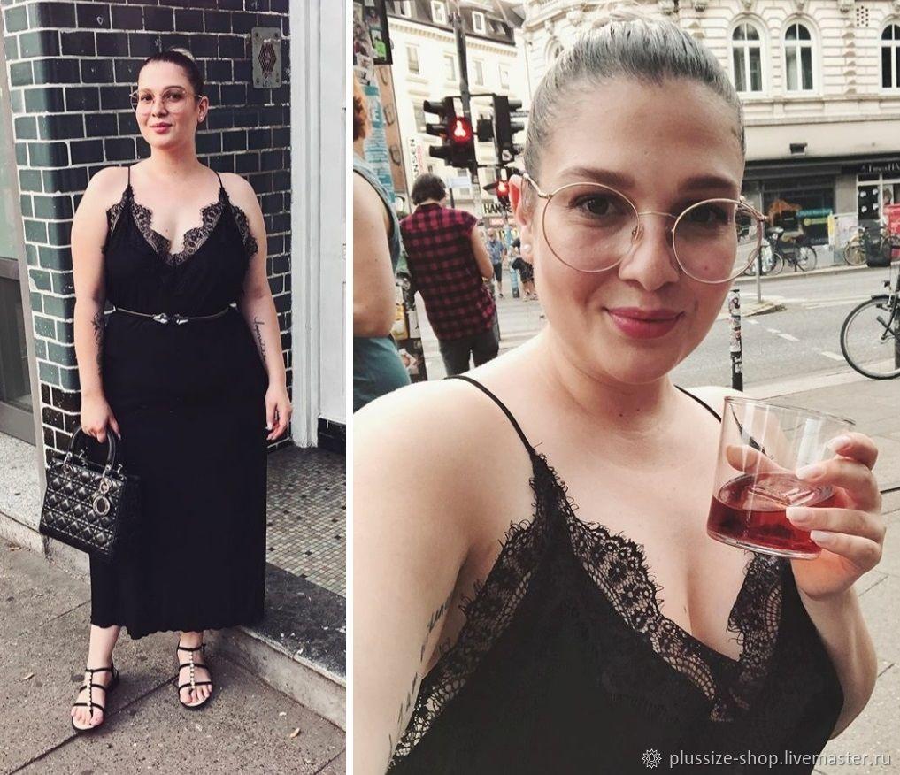Платье-комбинация с кружевом, Платья, Москва,  Фото №1