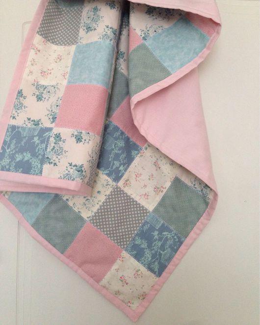 Текстиль, ковры ручной работы. Ярмарка Мастеров - ручная работа. Купить Лоскутный плед. Handmade. Одеяло пэчворк, плед детский
