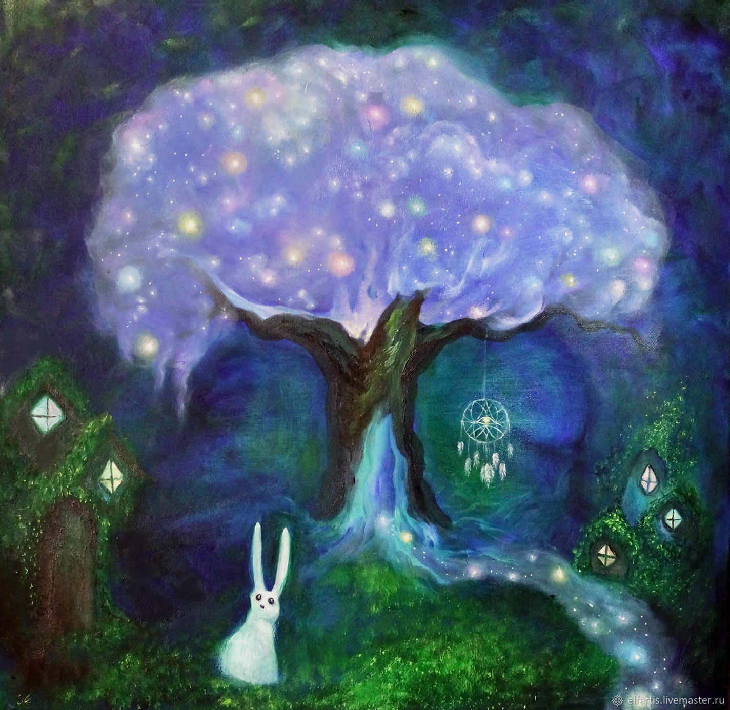 oil painting tree of dreams shop online on livemaster with