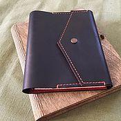 Блокноты ручной работы. Ярмарка Мастеров - ручная работа Кожаный блокнот А5. Handmade.