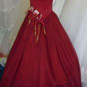 Одежда ручной работы. Ярмарка Мастеров - ручная работа Бордовое платье из серии  распродаж. Handmade.