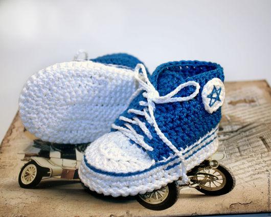 пинетки-кеды купить москва, вязаные пинетки кеды купить москва, кеды конверсы, конверсы, пинетки для новорожденного, пинетки для малыша, пинетки для малышки, пинетки ручной работы, пинетки hand made