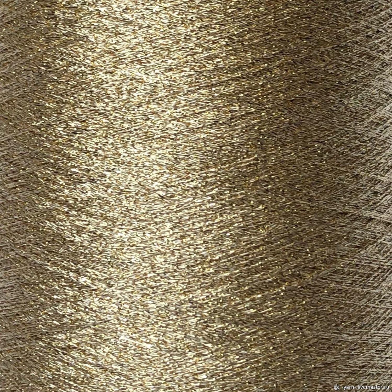 Пряжа люрекс золото – купить на Ярмарке Мастеров – NOOKORU | Пряжа, Санкт-Петербург