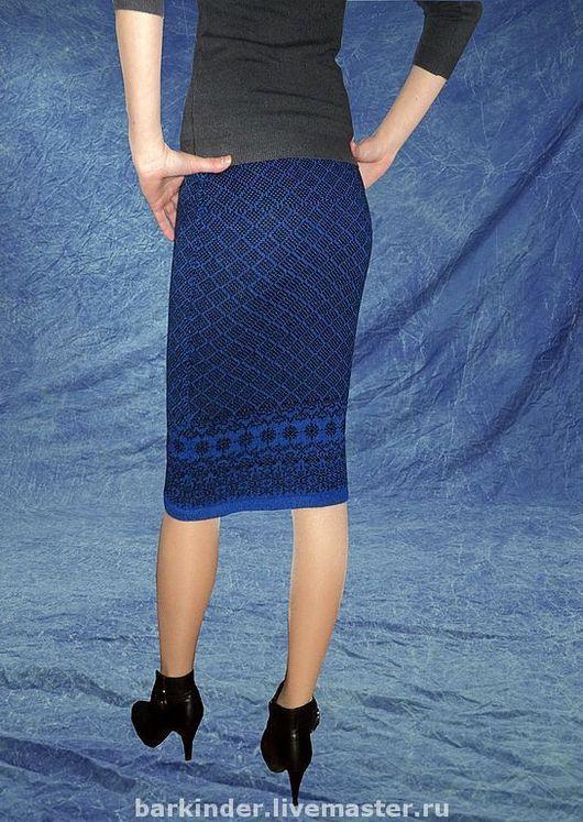 Вязаные юбки мода