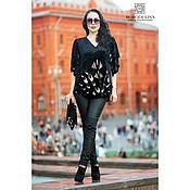 Одежда handmade. Livemaster - original item tunic: The blouse is of velvet