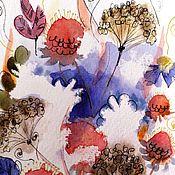 Картины и панно handmade. Livemaster - original item Watercolor postcards. Handmade.