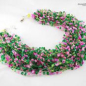 Украшения handmade. Livemaster - original item Beads Choker Necklace Bohochic Bohojewelry Bbirth day gift Bohemian. Handmade.