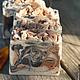 Мыло ручной работы. Ярмарка Мастеров - ручная работа. Купить 1шт! Очищающее натуральное мыло с красным перцем, и глинами. Handmade.