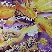 """Аксессуары ручной работы. Ярмарка Мастеров - ручная работа Платок """"Вселенная"""". Handmade."""