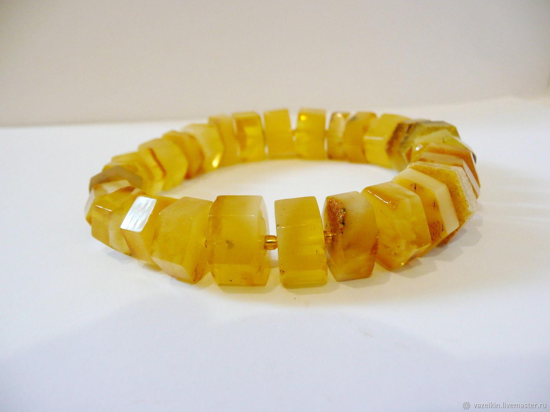 Amber bracelet 'nut' 176/2, Bead bracelet, Svetlogorsk,  Фото №1