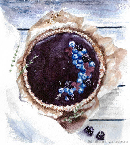 Акварельная открытка, , Набережные Челны, Фото №1