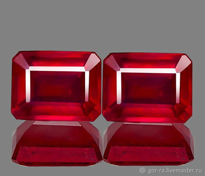 Рубин природный 10х8 мм. 9,08 карат, Минералы, Йошкар-Ола,  Фото №1