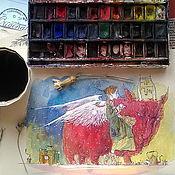 """Картины и панно ручной работы. Ярмарка Мастеров - ручная работа """"Прогулки во сне и наяву"""". Handmade."""