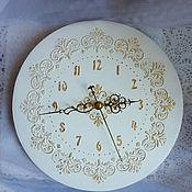 Для дома и интерьера ручной работы. Ярмарка Мастеров - ручная работа Часы настенные Винтаж. Handmade.