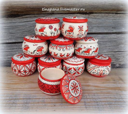 Декоративная посуда ручной работы. Ярмарка Мастеров - ручная работа. Купить Солонка деревянная. Handmade. Солонка, акриловый лак