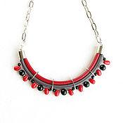 Украшения handmade. Livemaster - original item Necklace with coral