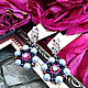 Frosty berry earrings, Earrings, Nizhny Novgorod,  Фото №1