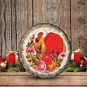 """Дизайн и реклама ручной работы. Ярмарка Мастеров - ручная работа Фотофон  """"Подарки 04"""" (стена+пол). Handmade."""