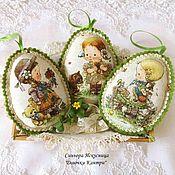 Подарки к праздникам handmade. Livemaster - original item A set of eggs
