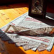 Свадебный салон handmade. Livemaster - original item Towel Sudarushki. Len. Hand embroidery.. Handmade.