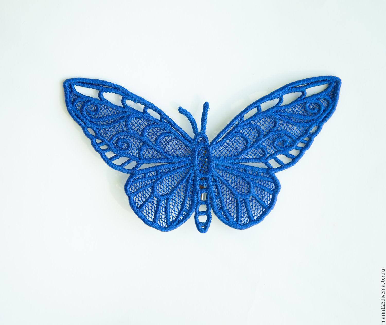 Brooch Butterfly blue, Brooches, Samara,  Фото №1