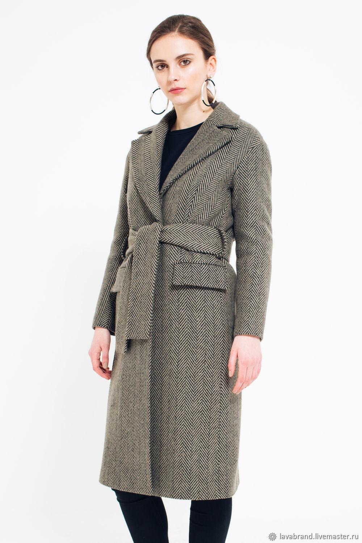 7e986a3f47e Верхняя одежда ручной работы. Ярмарка Мастеров - ручная работа. Купить  Зимнее шерстяное пальто.