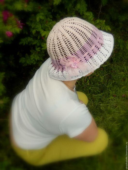 Шляпы ручной работы. Ярмарка Мастеров - ручная работа. Купить Шляпа. Handmade. Розовый, Вязание крючком, вязаная шляпа