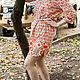 """Платья ручной работы. Новинка -Платье-рубашка из американского хлопка """"Розовые цветы"""". Радченко Екатерина. Ярмарка Мастеров. Платье-рубашка"""