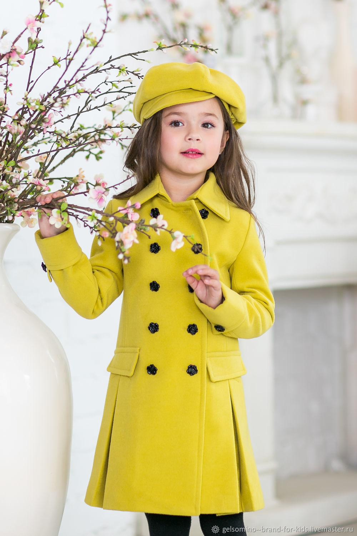 """Одежда для девочек, ручной работы. Ярмарка Мастеров - ручная работа. Купить Пальто для девочек """"Изабель"""". Handmade. Пальто, шерсть 70%"""