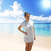 Одежда handmade. Livemaster - original item Beach tunic. Handmade.