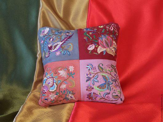 Текстиль, ковры ручной работы. Ярмарка Мастеров - ручная работа. Купить Фантазийный узоры. Handmade. Комбинированный, наполнитель холофайбер