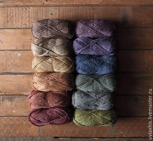 Вязание ручной работы. Ярмарка Мастеров - ручная работа. Купить Пряжа Wool of the Andes Tweed от KnitPicks. Handmade.