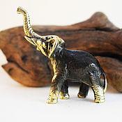 Подарки ручной работы. Ярмарка Мастеров - ручная работа Слон ручной работы бронзовая фигурка статуэтка коллекционная бронза. Handmade.