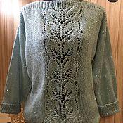 Пуловеры ручной работы. Ярмарка Мастеров - ручная работа Пуловер женский. Handmade.