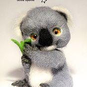 Куклы и игрушки ручной работы. Ярмарка Мастеров - ручная работа Малышка коала. Handmade.