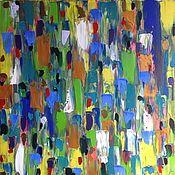 Картины и панно ручной работы. Ярмарка Мастеров - ручная работа В толпе. Handmade.