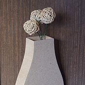 Материалы для творчества ручной работы. Ярмарка Мастеров - ручная работа Заготовка - ваза. Handmade.