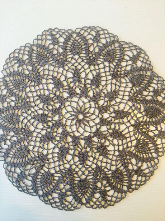 Текстиль, ковры ручной работы. Ярмарка Мастеров - ручная работа. Купить Салфетка хлопок, 39 см. Handmade. Декоративная салфетка