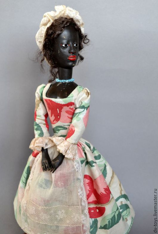 Коллекционные куклы ручной работы. Ярмарка Мастеров - ручная работа. Купить Репродукция ранней английской деревянной куклы Queen Anne. Handmade.
