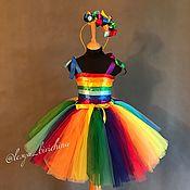 Работы для детей, ручной работы. Ярмарка Мастеров - ручная работа Карнавальный костюм Радуга. Handmade.