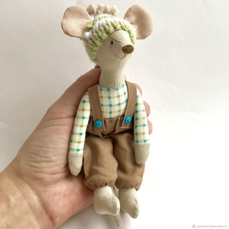 Игрушки животные, ручной работы. Ярмарка Мастеров - ручная работа. Купить Мышки в стиле Майлег Maileg. Handmade. Мышь, майлег