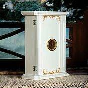 Для дома и интерьера handmade. Livemaster - original item Housekeeper with a clock table or wall:. Handmade.