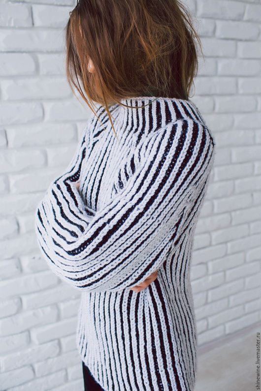 """Кофты и свитера ручной работы. Ярмарка Мастеров - ручная работа. Купить свитер """"бриошь"""". Handmade. Белый, ручная работа, шерсть"""